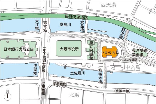 ( C ) 大阪市中央公会堂 http://osaka-chuokokaido.jp/map/