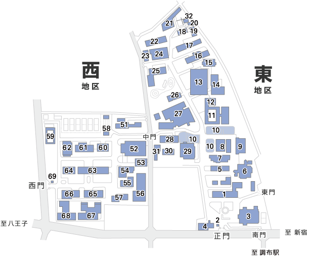 ( C ) 国立大学法人 電気通信大学 http://www.uec.ac.jp/about/profile/access/