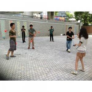 「関西ポイ練習会」4月7日、西梅田公園にて開催。