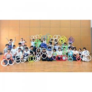 第7回 関西リング練習会「輪っ会」8月10日、尼崎市立すこやかプラザにて開催。