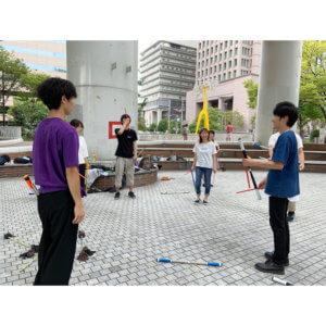 「第54回 関西スティッカー練習会」9月22日、西梅田公園にて開催。ブラボーコンテストの前日交流会も兼ねて。