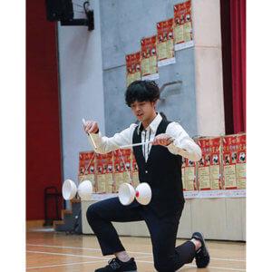 「第六回 中部学生ジャグリング大会」、審査員とゲストステージを公開。ゲストは田多加津輝氏。
